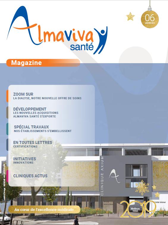 Magazine Almaviva Santé Janvier 2019